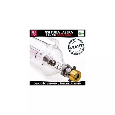 Tuba lasera CO2-50W z certyfikatem CE