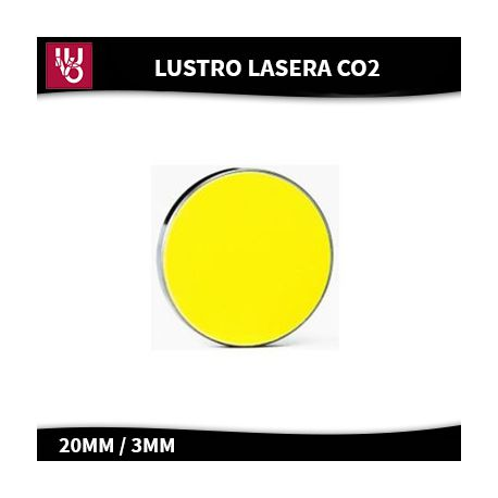 Lustro do lasera CO2- Mo,Si
